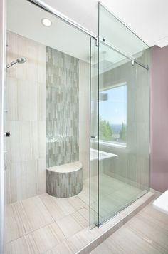El cancel de baño debe ser Limpio, Seguro y Durable #canceles #vidrio #Templado #decoracion #interiorismo #arquitectura