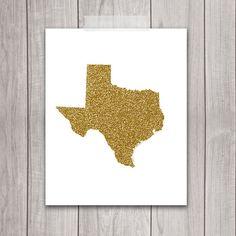 Texas Art - 8x10