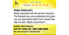 Really impressed with the service I received. The therapist was very professional and gave...