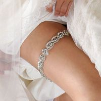 Wedding Garter with Crystals