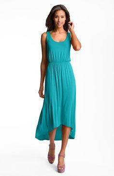 high low hem tank dress