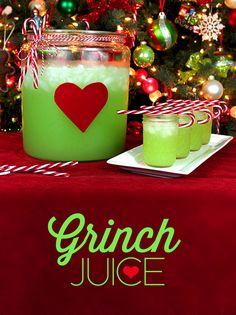 Christmas Grinch Juice | sandytoesandpopsicles.com