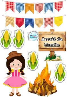 Festa Junina Paper Toys, Have Fun, Scrapbook, Drawings, Cowgirl Party, Decorative Paper, Miniatures, Events, Xmas