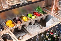 Conception des stations de travail - Bespoke Cocktails Bar