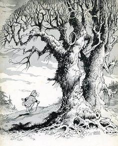 Olivier B. Graphic Art, Graphic Novels, Bonsai, Cross Hatching, Children's Book Illustration, Comic Artist, Comic Books Art, Fairy Tales, Moose Art