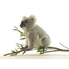 Hansa Mama Koala - Toys that Teach - indoor doll - Dolls Animals - toy - wild - Teddy Bears - crafted collection - like for children and adults . Hansa