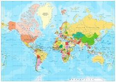 Find World Map Vector High Detailed Illustration stock images in HD and millions of other royalty-free stock photos, illustrations and vectors in the Shutterstock collection. Thousands of new, high-quality pictures added every day. World Map Travel, Go It Alone, Map Vector, Diagram, Stock Photos, Illustration, Maps, World, Viajes