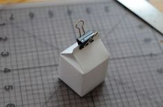 Mini milk carton - gift boxes (template)