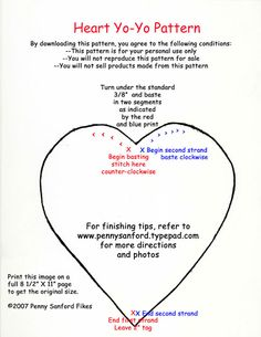 Heart Yo-Yo Pattern