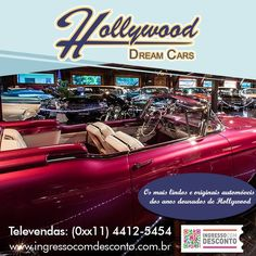 Em Gramado, o Museu de automóveis clássicos antigos, exibe os mais lindos e originais automóveis dos anos dourados de Hollywood e indústria automobilística americana das décadas de 20, 30, 40, 50 e 60, que encantaram artistas, presidentes e personalidades do mundo inteiro. Gostou? Então vem curtir! Compre agora: www.ingressocomdesconto.com.br Televendas: (0xx11) 4412-5454