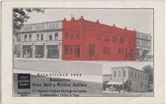 Ohio Postcard 1911 Wauseon First National Bank 2VIEW 4 Interest | eBay