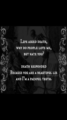 Life death quote