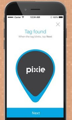 Never lose your gadgets again with Pixie Points.