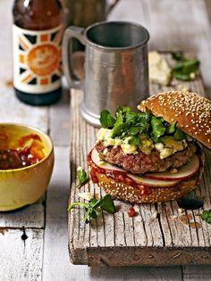 Wild Boar Burgers [ www.crimsongourmet.com ]