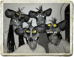 Buhay Bohemio: Making Our Version of Lion King Masks