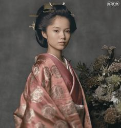 "Aoi Miyazaki 宮崎あおい NHK 2008 Taiga Drama Atsuhime ""篤姫"""