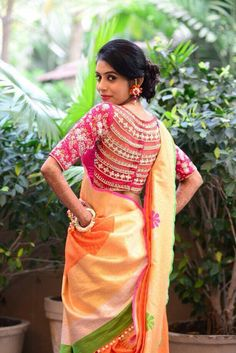 Maharani #saree blouse designs
