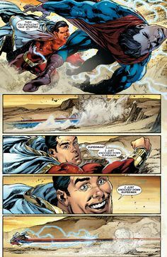 I wouldn't get too happy there Billy... (Billy Batson is Important)