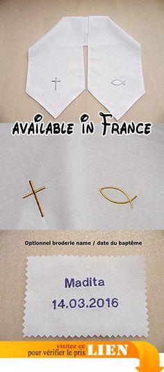 Echarpes de baptême,120 cm x17 cm( enfant ).  #Guild Product #GUILD_BABY