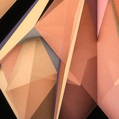 Low-Poly Butterflies by Chaotic Atmospheres , via Behance