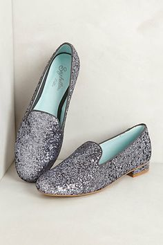 Glittery smoking loafers - on sale for $39.95!  http://rstyle.me/~1Pzrh