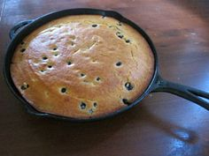 Blueberry Cornmeal Cake recipe from Great Harvest Bread Co.