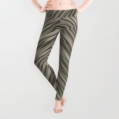 Abstract Silver Leggings - $39.00 #society6 #leggings #clothing #fashion #silver #abstract #modern