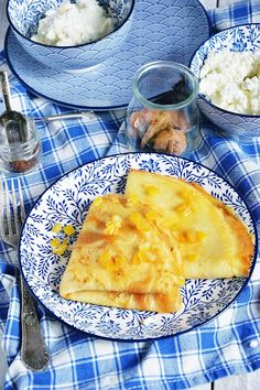 Moja smaczna kuchnia: Naleśniki z serem