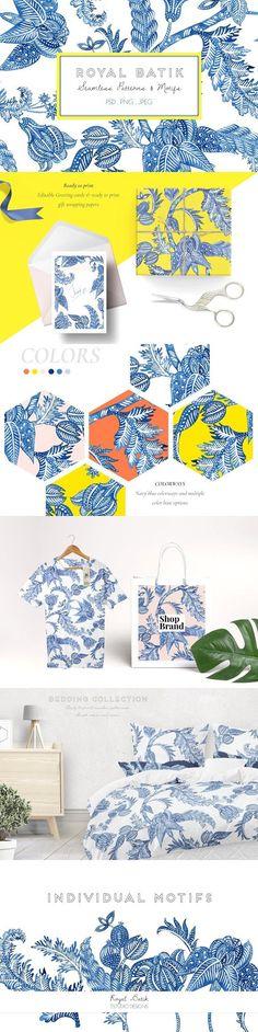 Graphic Design - Graphic Design Ideas - Royal Batik, Seamless Print & Motifs by TSTUDIO on Creative Market Graphic Design Ideas : – Picture : – Description Royal Batik, Seamless Print & Motifs by TSTUDIO on Creative Market -Read More –