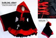Ruby Rose Inspired Cosplay Kimono Dress by DarlingArmy