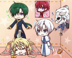 Yona and hatem of dragons - Akatsuki no yona