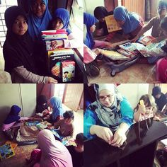 #Repost @sakeenahnasser with @repostapp. ・・・ Did a quick stop at the Rumah Asnaf Al-Barakah to give them the books bought during Big Bad Wolf Books Sale and a bookshelf. The kids straight away started to go over the books and passing it to one another. Its not much but InsyaAllah their library will grow slowly.  Thanks again to The KopiShop by YummyLicious for the preview passes.  #helpraab  #thekopishop  #readingisfun