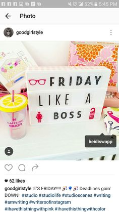 Friday · Heidi SwappLightbox