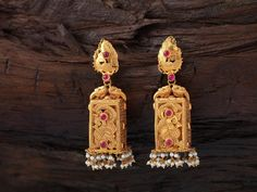 Latest Designer Jhumka Earrings Collections, 22K Latest Jhumka Designs, Latest Antique Jhumka Designs.