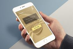 Feast your eyes with this beautiful iPhone 6 Plus presentation of premium quality. Today's freebie is easy to use and edit via smart objects PSD mockup with three changeable backgrounds. Best Iphone, Iphone 6, Mockup Templates, Templates Free, Bottle Mockup, Business Card Mock Up, Ui Design, Branding Design, Graphic Design