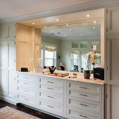 Built In Dresser Transitional Closet Crown Point Cabinetry Wardrobe Bedroom