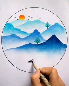 Oil Pastel Drawings Easy, Oil Pastel Art, Abstract Pencil Drawings, Oil Pastel Paintings, Art Drawings Beautiful, Art Drawings Sketches Simple, Art Painting Gallery, Diy Painting, Arte Copic