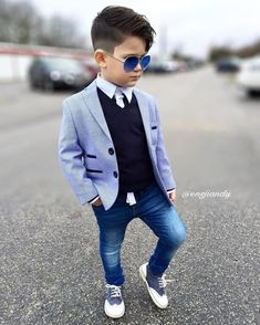 Stylish Boys Clothes - February 20 2019 at Toddler Boy Fashion, Little Boy Fashion, Toddler Boy Outfits, Young Fashion, Fashion Kids, Toddler Boys Clothes, Toddler Boy Style, Fashion Fashion, Trendy Fashion