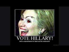 ¿Hillary Clinton es satanica e iluminati?