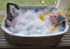 Surprise -- meisje in bad