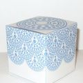 Print Out Free Favor Boxes for Your Wedding: Circle Dot Favor Box by Don't Eat the Paste