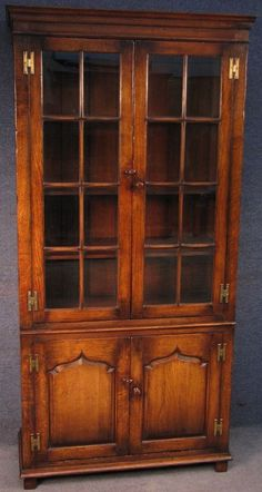 Pin by mike bijon on wood implements and art pinterest woods titchmarsh goodwin solid oak tall glazed bookcase cabinet cupboard rl20546fp titchmarshgoodwin solutioingenieria Image collections