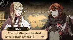 Fire Emblem Awakening - Libra/Gaius Support Conversation