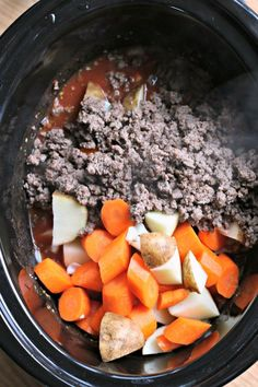 Poor Man's Stew - The Magical Slow CookerThe Magical Slow Cooker