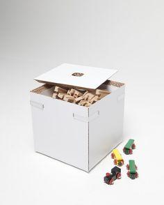 Cardboard furniture by Järvi & Ruoho