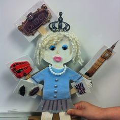 One of my 2nd grade students did this Woman's History Month 5-pocket information/facts. This one is Princess Diana!