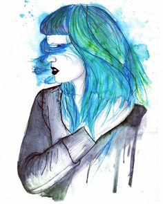 A fast mini watercolour. . . . #art #artist #artistic #artists #arte #dibujo #myart #artwork #illustration  #graphic #color #colour #colorful #painting #drawing #f4f #drawings #markers #paintings #watercolor #watercolour #ink #creative #sketch #sketchaday #pencil #beautiful #arts_secret