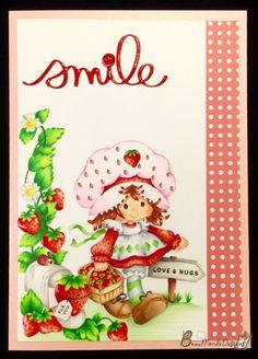 Beau Monde Designs   smile   Strawberry Shortcake