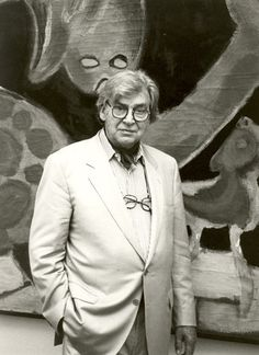 Karel Appel __Christiaan Karel Appel (Dutch: [krɪsˈtiaːn ˈkɑrəl ɑpɔl] ( listen)) (25 April 1921 – 3 May 2006) was a Dutch painter, sculptor, and poet. He started painting at the age of fourteen and studied at the Rijksakademie in Amsterdam in the 1940s. He was one of the founders of the avant-garde movement Cobra in 1948