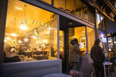 Le Pichet has been quietly serving marvelous French food since the turn of the century in a lovely, unstuffy setting nestled atop Pike Place Market. (Lindsey Wasson/The Seattle Times)